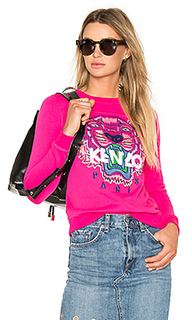Embroidered tiger pullover - Kenzo