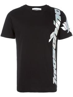 футболка с принтом логотипа Moschino Vintage