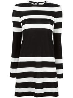 платье в полоску Calvin Klein Collection