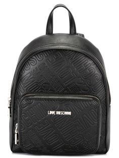 рюкзак с тисненым логотипом Love Moschino