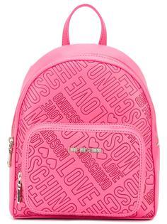 рюкзак с тиснением логотипа Love Moschino