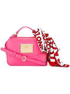 сумка-тоут с платком Love Moschino