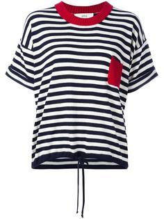 трикотажная футболка в полоску Vanessa Bruno Athé