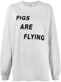футболка Pigs Are Flying Ashish