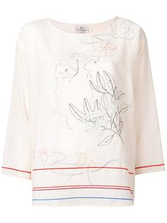 embroidered blouse Forte Forte