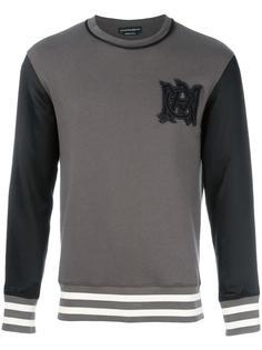 embroidered signature sweatshirt Alexander McQueen