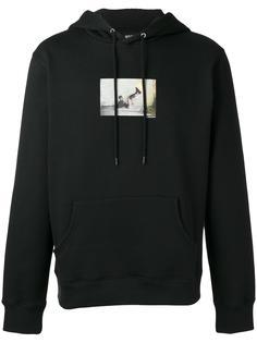 printed hoodie  Hood By Air