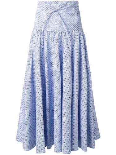 polka dot striped skirt Vivetta