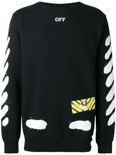 Diagonal Spray sweatshirt Off-White