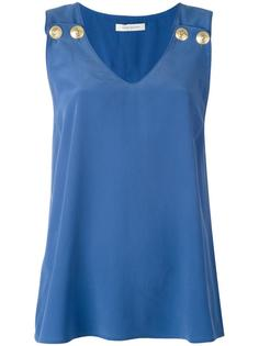 v-neck tank top Pierre Balmain