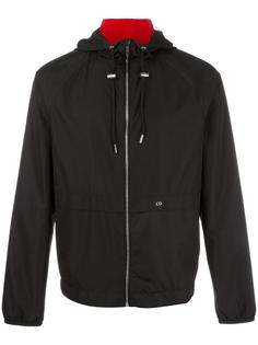elasticated cuffs hooded jacket Dior Homme