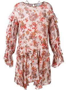 floral print ruffled dress Iro