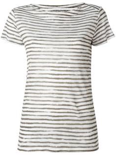 striped shortsleeved T-shirt Majestic Filatures