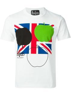 "футболка с принтом ""The Beatles Union Jack"" Comme Des Garçons"