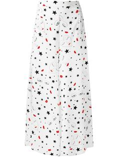 heart print trousers Vivetta