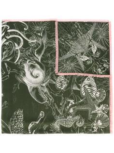 printed scarf Odeeh