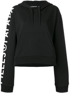 logo print Tiger hoodie Filles A Papa