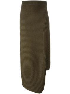 асимметричная юбка в рубчик J.W.Anderson