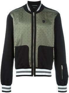 жаккардовая куртка-бомбер  Alexander McQueen