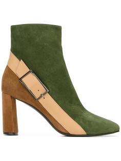 ботинки колор-блок  Casadei