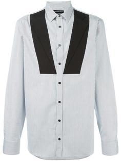 рубашка с контрастными полосками   Alexander McQueen