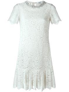 платье из цветочного кружева  Blugirl