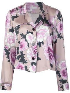 пижамная рубашка с цветочным рисунком Fleur Du Mal