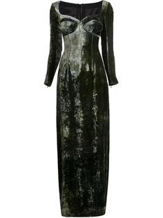 длинное платье с корсетом Y / Project