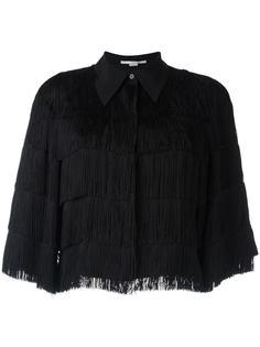 укороченная рубашка с бахромой Stella McCartney