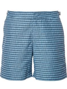 плавательные шорты с геометрическим узором Orlebar Brown