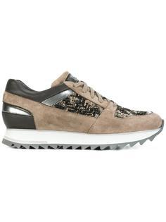metallic detailing sneakers Santoni