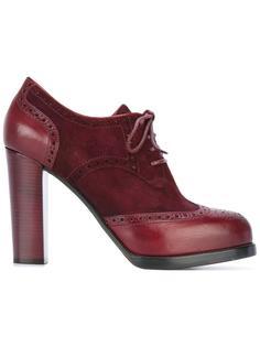 brogue style ankle boots Santoni