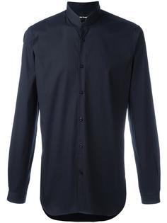 рубашка с узким воротником-стойкой The Kooples