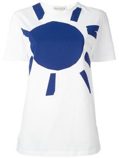 футболка с принтом в виде солнца Être Cécile