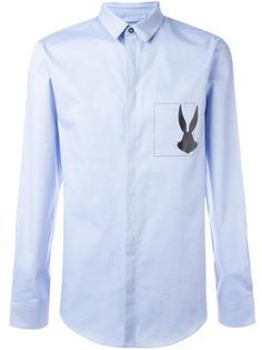 рубашка с принтом в виде кролика Iceberg