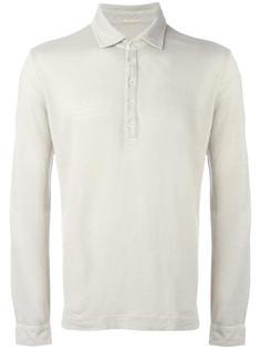 футболка-поло с длинными рукавами  Massimo Alba