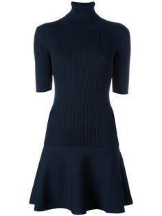 расклешенное платье в рубчик Michael Michael Kors