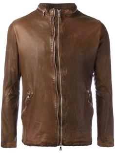 classic leather jacket Giorgio Brato