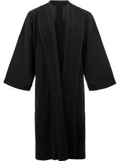 pleated kimono coat Homme Plissé Issey Miyake