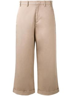 flared cropped trousers Nº21
