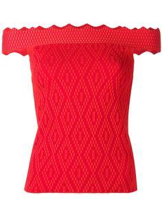 блузка с открытыми плечами Jonathan Simkhai