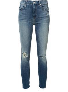 укороченные джинсы скинни Mother