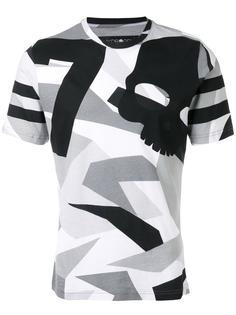 футболка с камуфляжным принтом Hydrogen