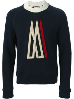 свитер с вышитым логотипом Moncler X Ami