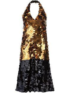 платье с пайетками  Vera Wang
