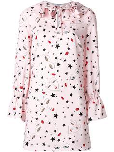 stars print shift dress Vivetta