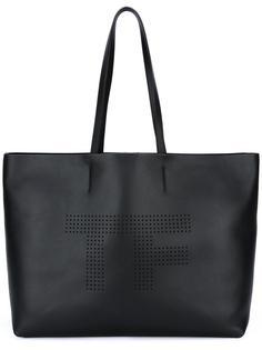 перфорированная сумка Tom Ford