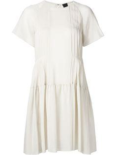 крестьянское платье с короткими рукавами Vera Wang