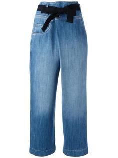 укороченные широкие джинсы Brunello Cucinelli