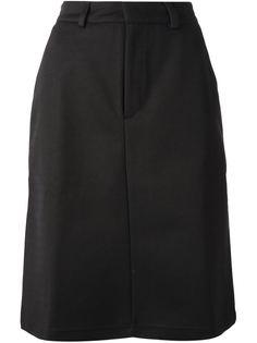 трикотажная юбка миди  Adidas